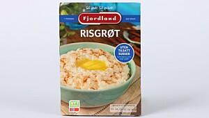 Fjordland Risgrøt uten tilsatt sukker