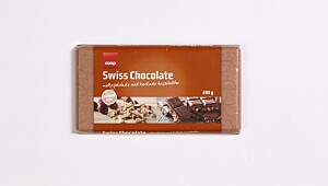 Coop Swiss Chocolate, hakkede hasselnøtter