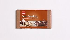 Coop Swiss Chocolate, hakkede hasselnøtter