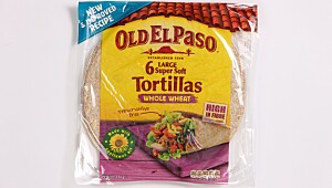 Old El Paso Tortillas Wholeweat