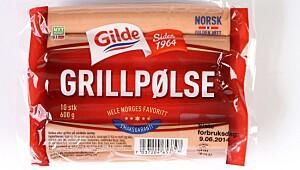 Gilde grillpølse