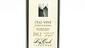 Dry Creek Old Vine Zinfandel 2012