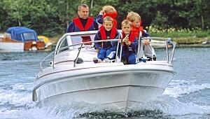 Praktisk bruksbåt