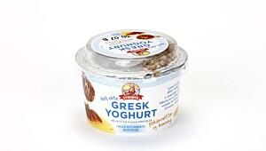 Synnøve Finden AS Gresk yoghurt, pekannøtter og honning