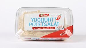 Delikat Yoghurt i potetsalat soltørket tomat & chili