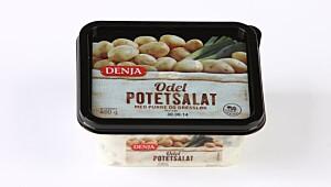Denja Odel potetsalat med purre og gressløk