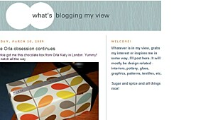 What's blogging my view