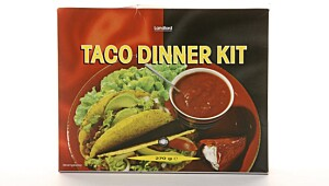 Landlord Taco Dinner Kit.