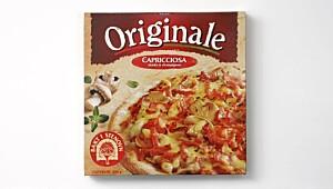 Originale Capricciosa skinke & champignon