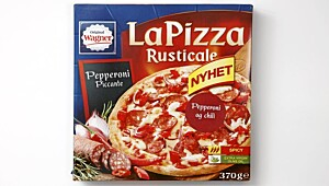 Original Wagner: La Pizza Rusticale Pepperoni piccante (pepperoni & chili)