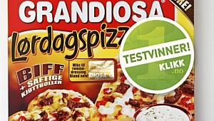 Grandiosa Lørdagspizza biff