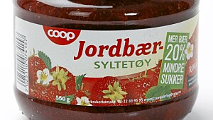 Coop jordbærsyltetøy