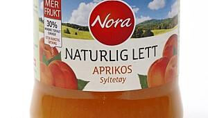 Nora naturlig lett aprikossyltetøy