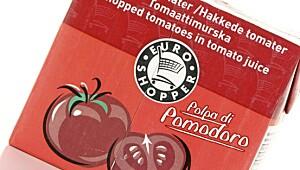 Euroshopper hakkede tomater