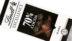 Lindt Excellence 70 prosent