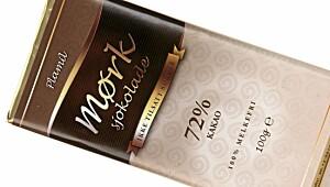 Plamil mørk sjokolade 72 prosent