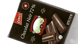 Villars Chocolat noir 72 prosent