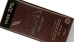Green & Black's Organic Dark Chocolate 70 prosent