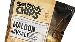 Sørlandschips Maldon Havsalt