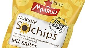 Maarud Norske Solchips lett saltet