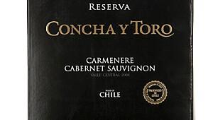 Concha y Toro Carmenere Cabernet Sauvignon Reserva 2008