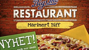Big One Restaurant Marinert Biff