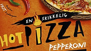 En skikkelig hot pizza Pepperoni