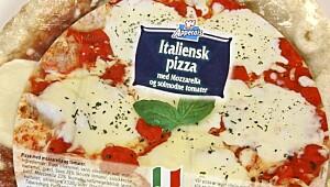Appetais Italiensk pizza m Mozzarella og solmodne tomater