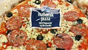 Appetais Italiensk pizza m Pepperoni og mozzarella
