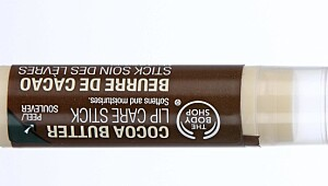 Cocoa Butter Lip Care Stick fra The Body Shop