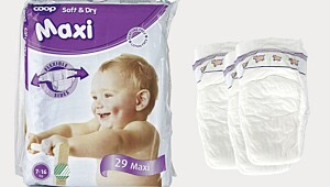 Best i test: Coop Soft & Dry