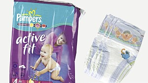 Brukerpanelets favoritt: Pampers Active fit