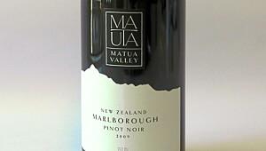 Matua Valley Pinot Noir 2009