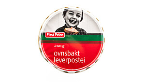 First price ovnsbakt leverpostei
