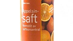 Appelsinsaft Rema 1000