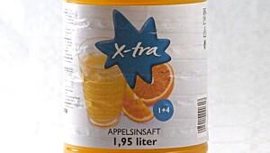 X-tra Appelsinsaft