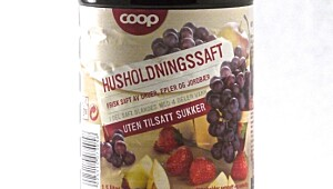 Husholdningssaft Coop UTS