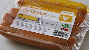 Solvinge Grillpølse med ost, kalkun og kylling
