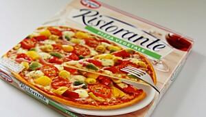 Ristorante Pizza Vegetale