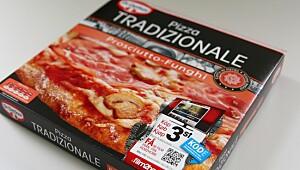 Pizza Tradizionale Prosciutto-Funghi