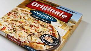 Originale Margherita, mozzarella og urter