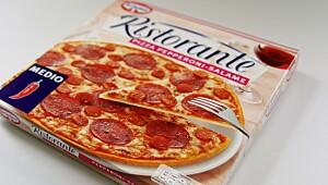 Ristorante Pizza Pepperoni-salame