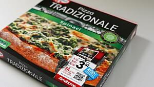 Pizza Tradizionale Spinaci