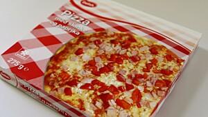 Delish Pizza med skinke og paprika