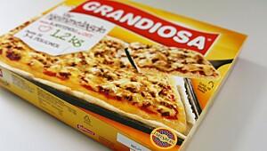 Grandiosa vår hjemmelagde med kjøttdeig og ost