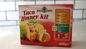Poco Loco Taco dinner kit