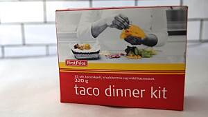 First Price taco dinner kit