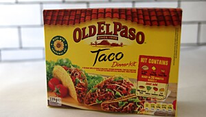 Old ElPaso Taco Dinner Kit