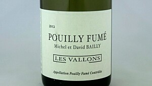 Bailly Pouilly Fumé Les Vallons 2013