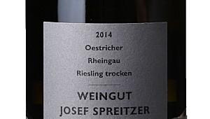 Josef Spreitzer Oestrich Riesling Trocken 2014